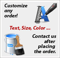 Customize your work